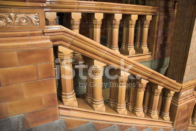 Victorian Staircase.