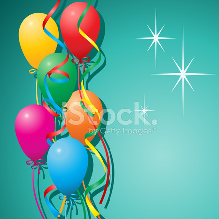 Sfondo Di Palloncini Stock Vector Freeimages Com