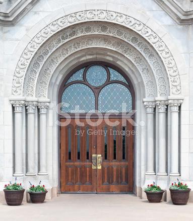Gothic gateway doors & Gothic Gateway Doors Stock Photos - FreeImages.com
