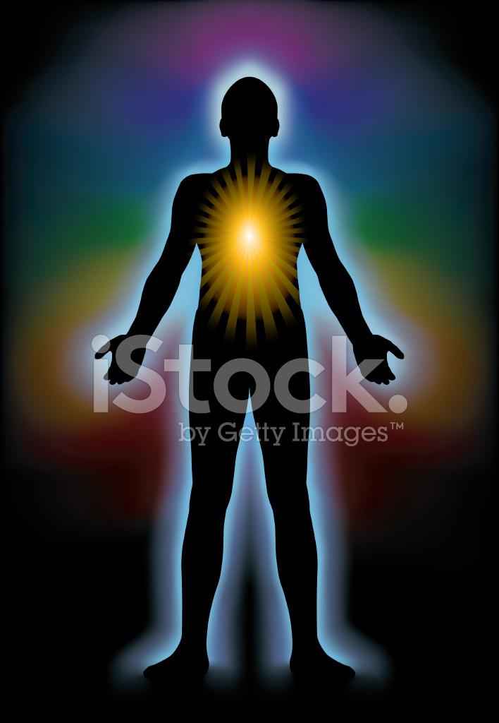 Spirituele Verlichting Stock Vector - FreeImages.com
