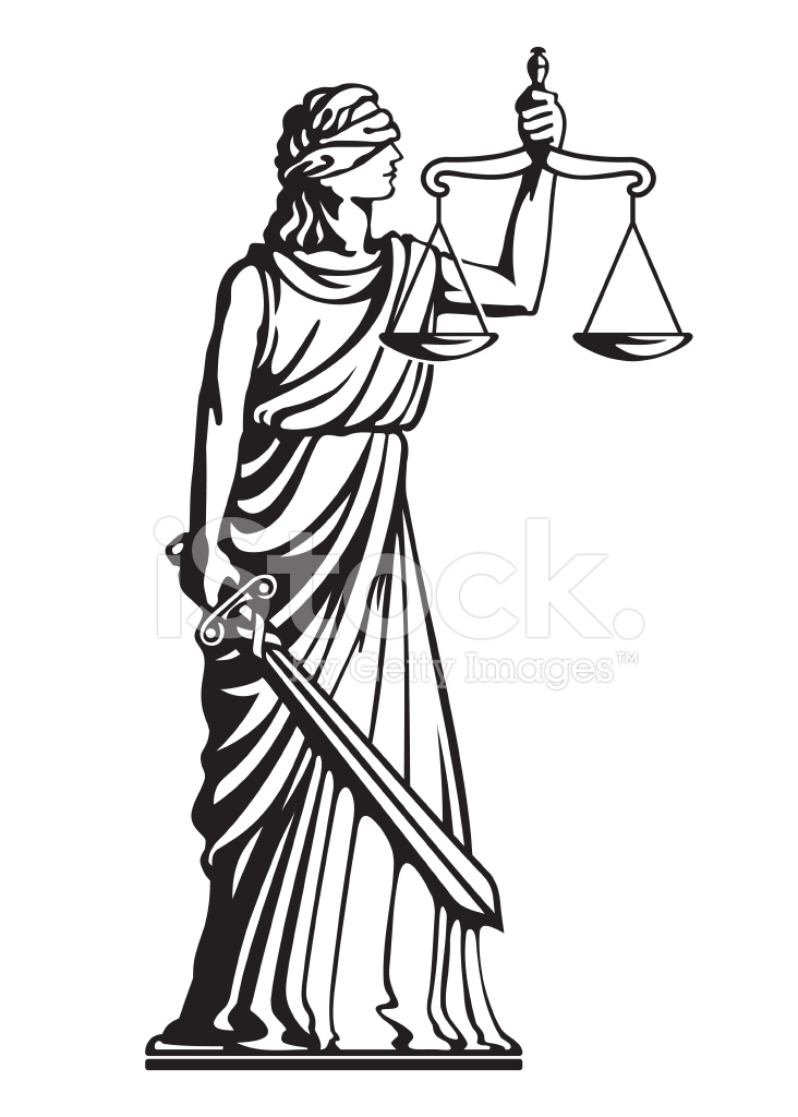 Themis Justice Stock Vector - FreeImages.com