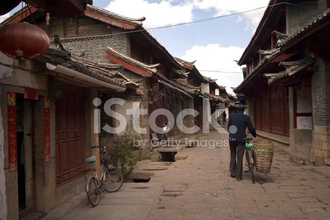 premium stock photo of chinese street