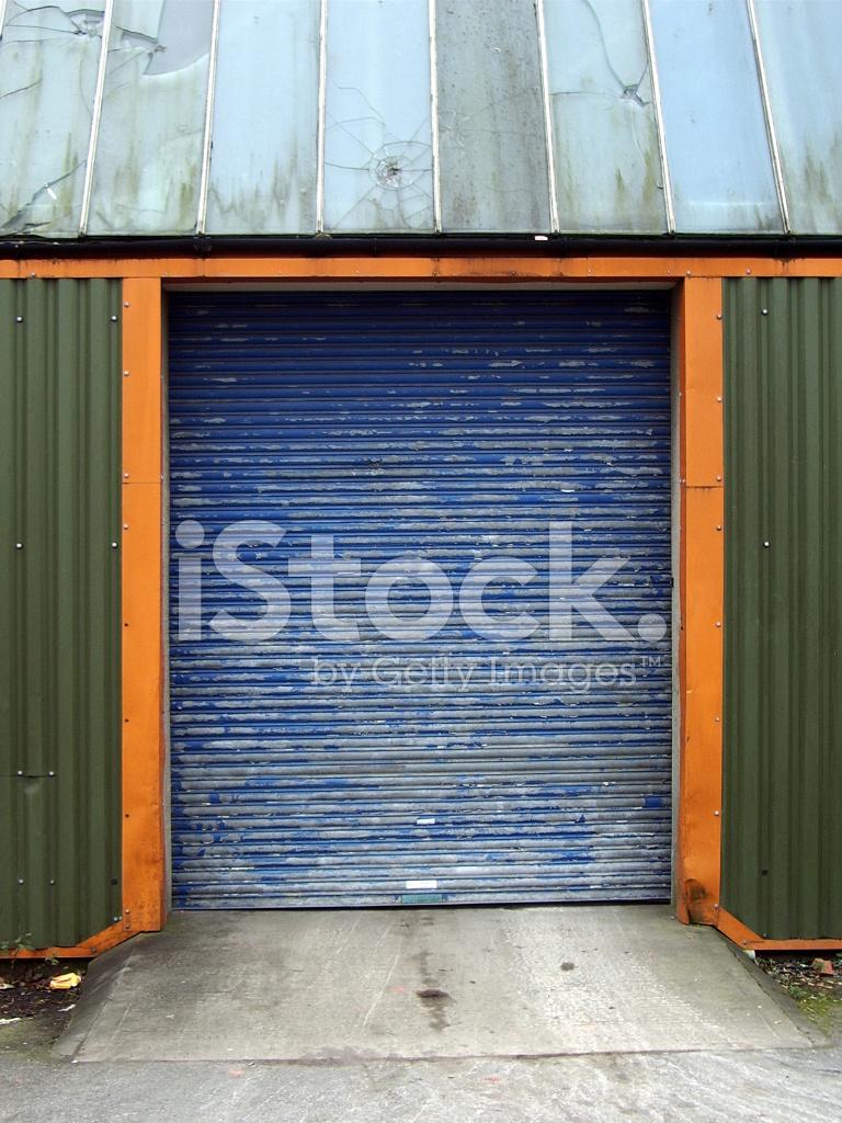grunge garage door stock photos
