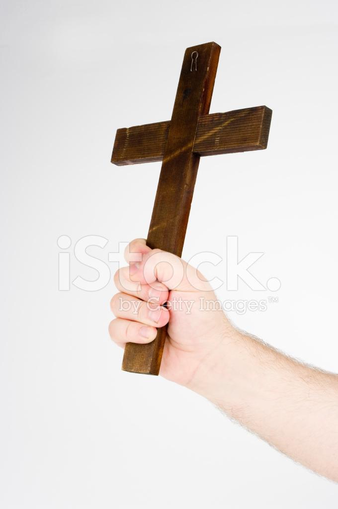 Holding A Cross Stock Photos Freeimages Com