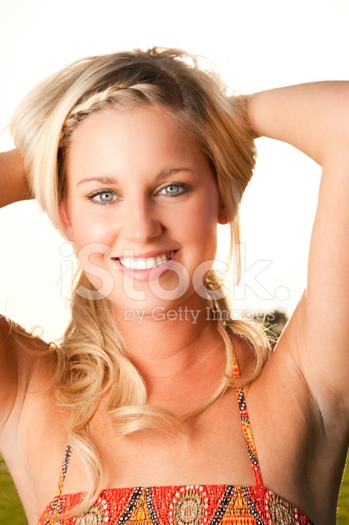 dryck blond rida