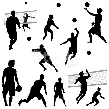 u6c99 u6ee9 u6392 u7403 u526a u5f71 stock vector freeimages com Volleyball Clip Art beach volleyball clipart images