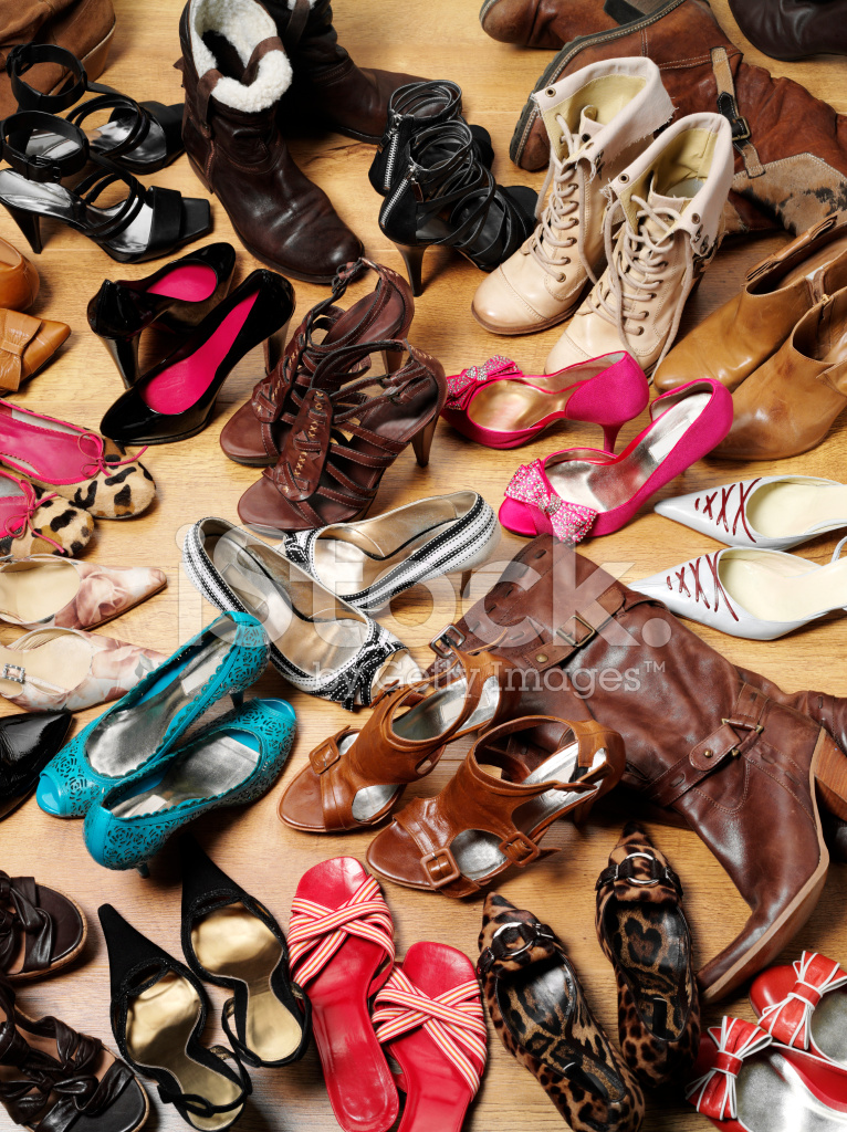 Group Of Shoes And Boots Stock Photos FreeImagescom