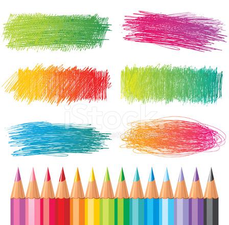 Textures DE Crayon DE Couleur photos - FreeImages.com