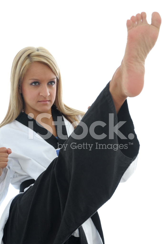 front kick protection stock photos   freeimages