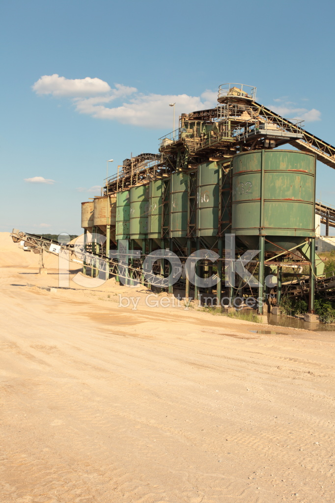 Cement Factory IN Germany Stock Photos