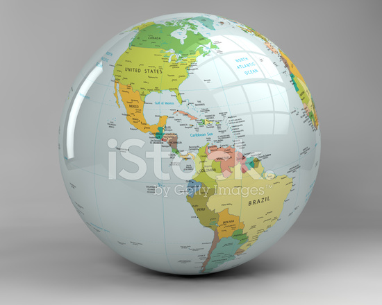 3d earth globe usa view with clipping path stock photos 3d earth globe usa view with clipping path gumiabroncs Images