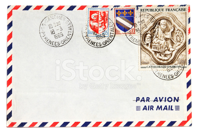 Old fashioned letter stamps 40
