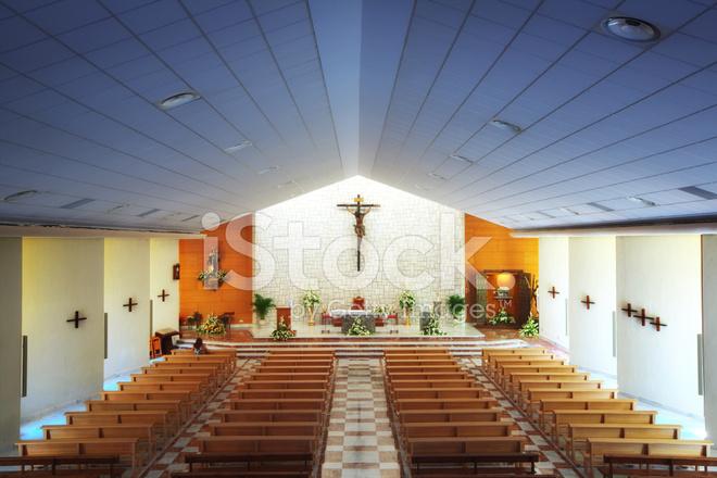 Modern Church Interior Stock Photos Freeimagescom