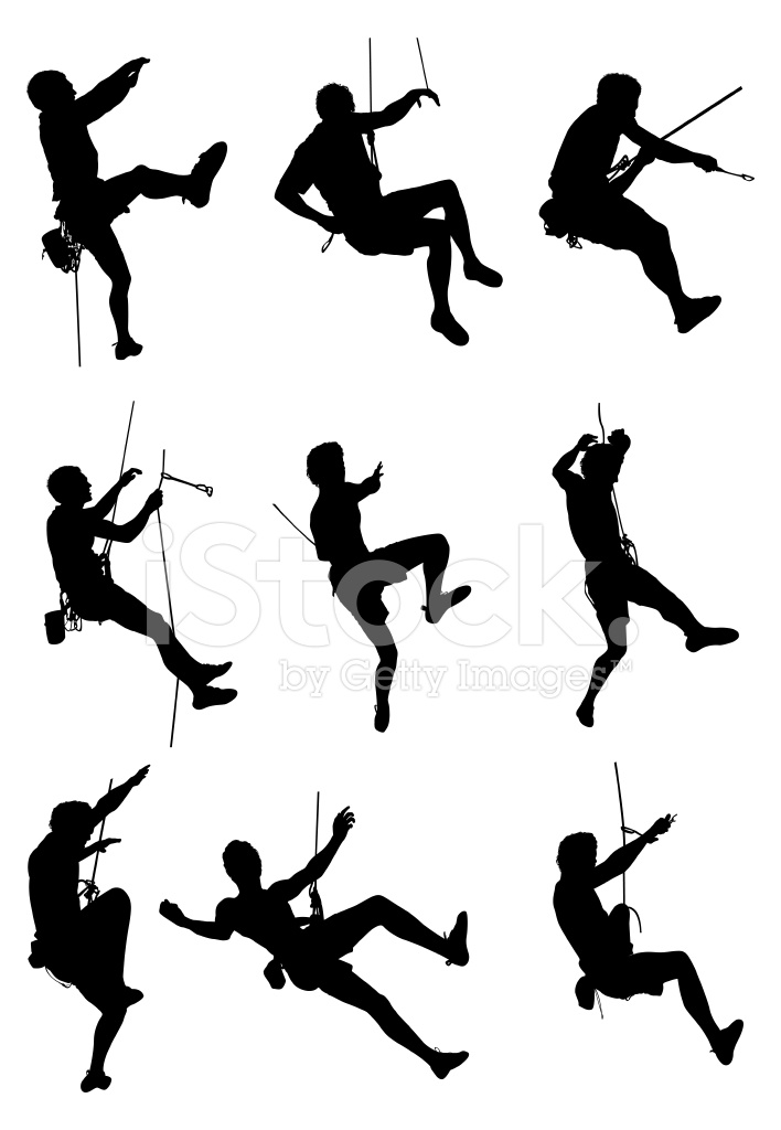 Extreme Sport Rock Climbing Stock Vector Freeimages Com