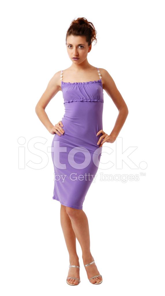 f7fc5720a8f1ec Premium Stock Photo of Slanke Vrouw IN Nauwsluitende Jurk Geïsoleerd Op Wit
