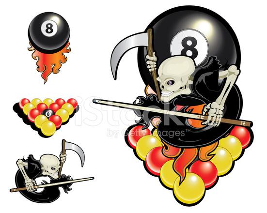 Black Ball Grim Reaper Stock Vector Freeimages Com