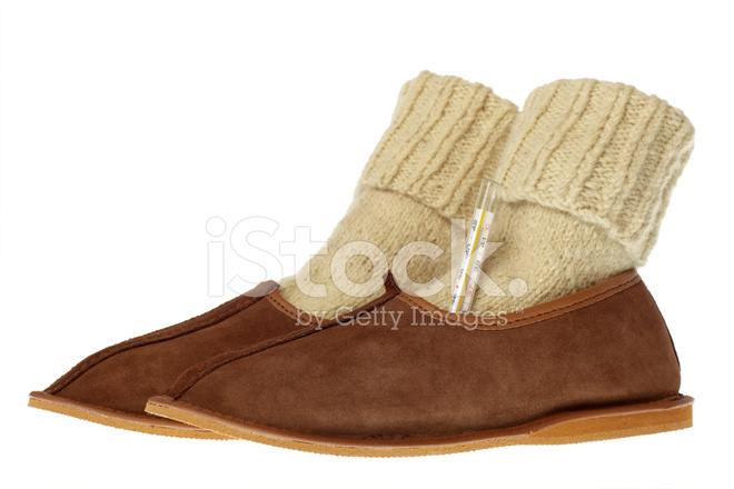 dfb5dd8335c Isolated Brown Comfortable Slippers Stock Photos - FreeImages.com