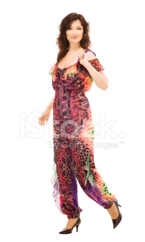 c06f04508 Mulher Demonstra O Vestido DE Noite Fotos do acervo - FreeImages.com