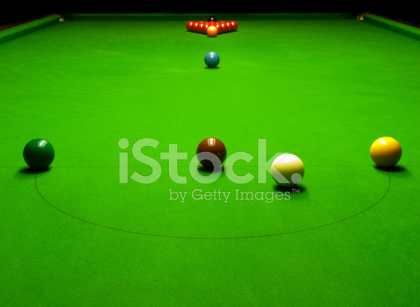 Snooker table set up for play & Snooker Table Set UP for Play Stock Photos - FreeImages.com