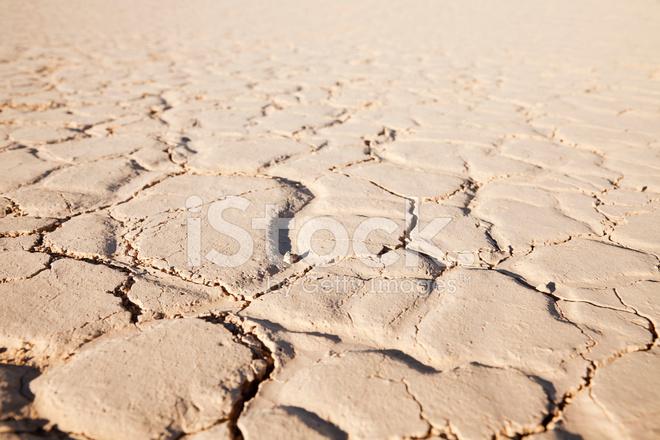 Dry Cracked Desert Soil Stock Photos - FreeImages.com