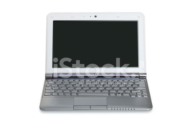 Liten Dator Netbook Stockfoton Freeimagescom