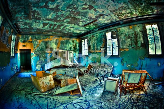 Abandoned Hospital Room Urban Exploration Nobody