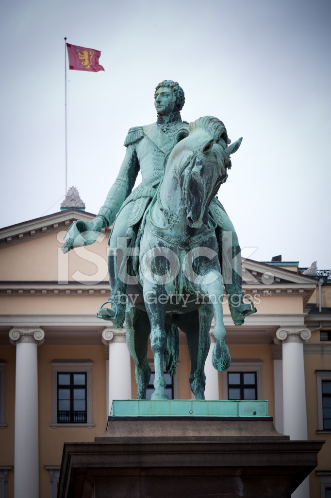 オスロ王宮カール 3 世ヨハン像 ストックフォト - FreeImages.com