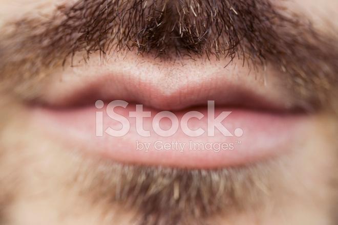 bouche l vres homme moustache macro photos. Black Bedroom Furniture Sets. Home Design Ideas