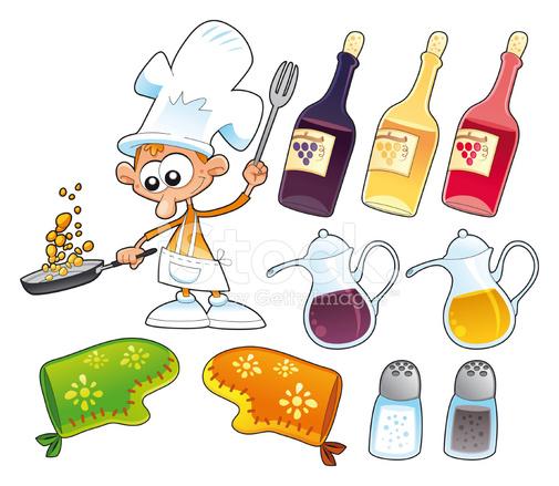 Oggetti Di Cucina E Stock Vector - FreeImages.com