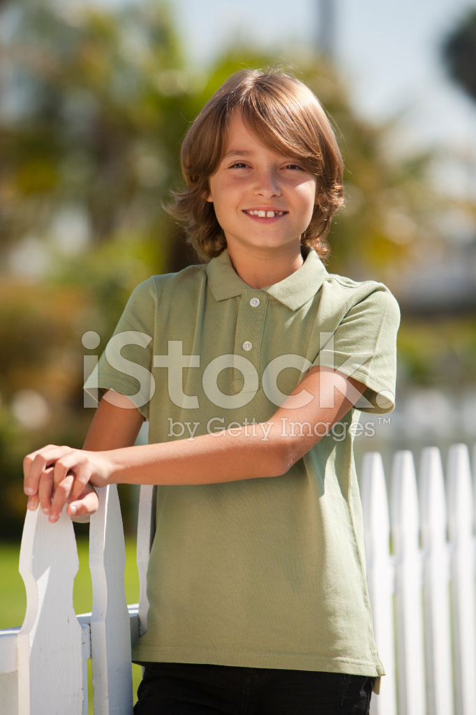 Portrait Of A Happy 10 Year Old Boy Stock Photos Freeimages Com