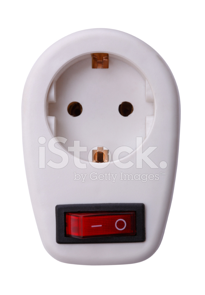 Electrical Outlet With Switch Stock Photos - FreeImages.com