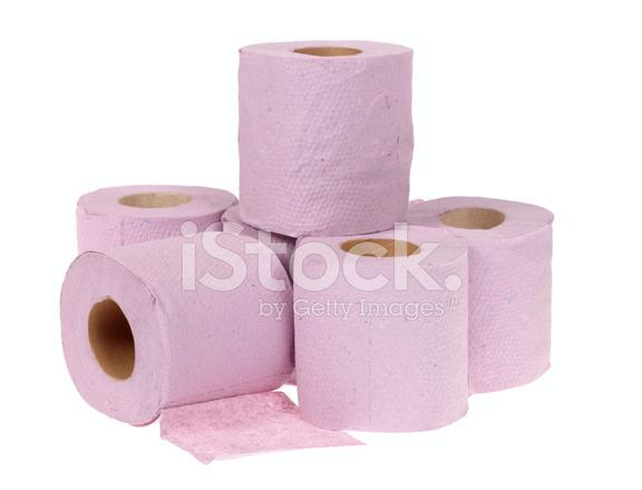Rotoli Di Carta Igienica : Rotolo di carta igienica rosa fotografie stock freeimages