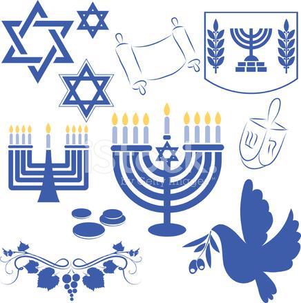 Hanukkah Symbol Stock Vector - FreeImages.com
