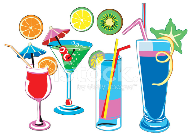 Cocktailgläser cocktail gläser stock vector freeimages com