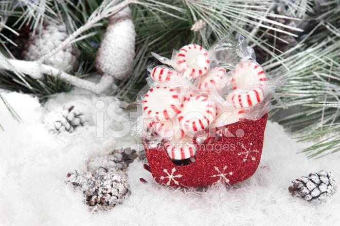 christmas candy in sleigh - Christmas Candy Sleigh