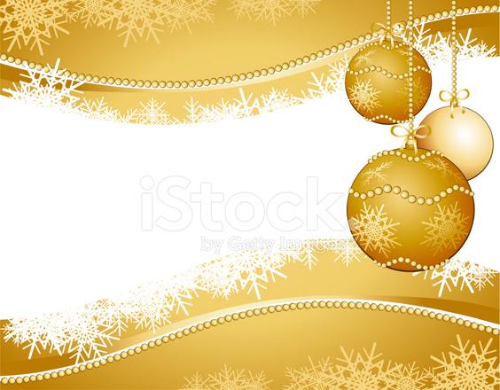 Sfondi Natalizi Oro.Sfondo Di Natale Stock Vector Freeimages Com