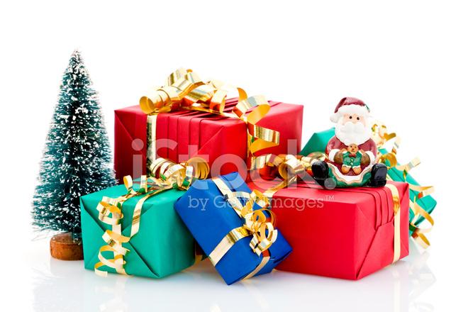 圣诞礼物堆 照片素材 freeimages