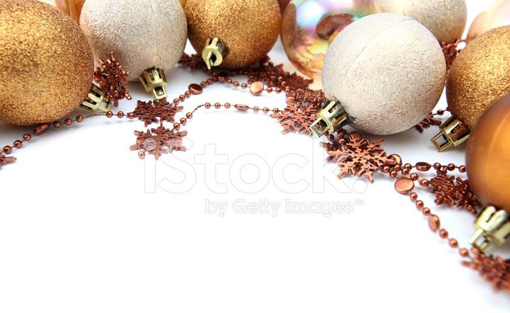 gold christmas ornament border stock photos freeimages com