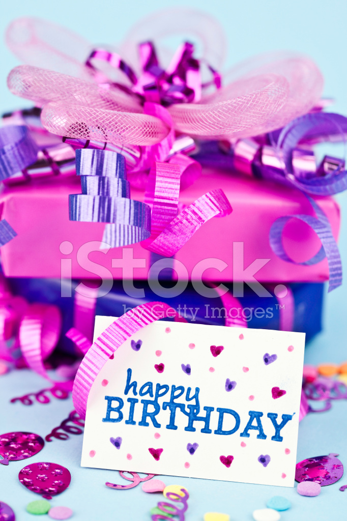 Birthday Gifts With Card Stock Photos Freeimages Com