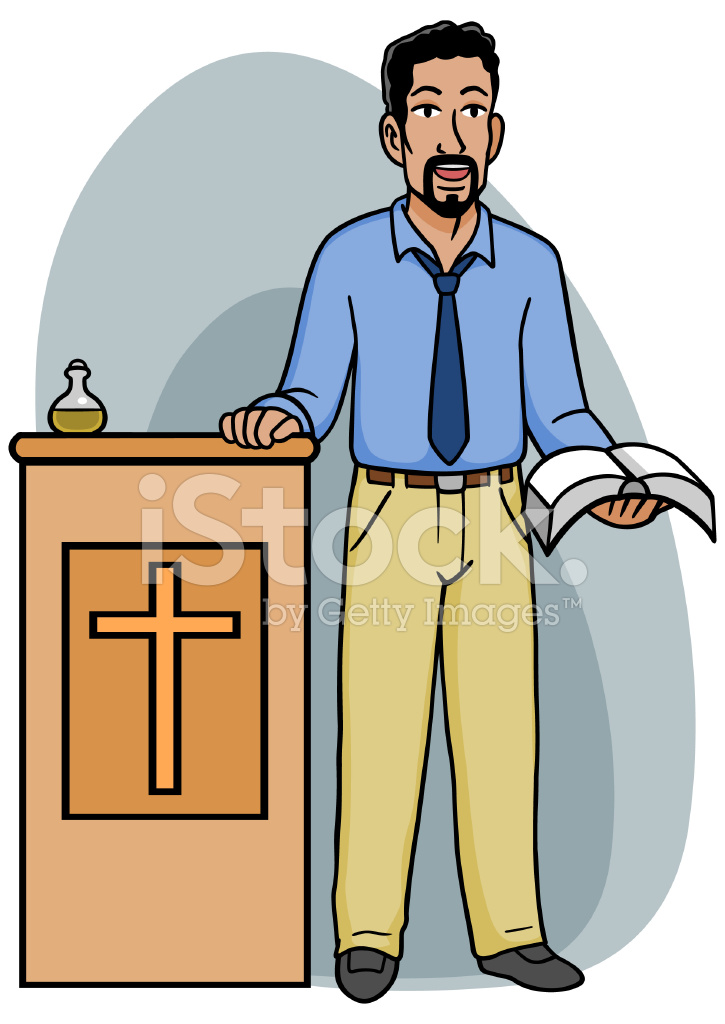 preacher podium stock vector freeimages com rh freeimages com black preacher clipart black preacher clipart