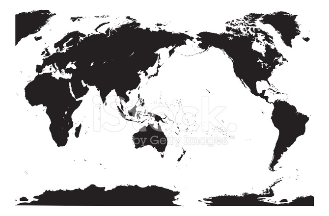 Accurate vector world map detailed stock vector freeimages accurate vector world map detailed gumiabroncs Choice Image