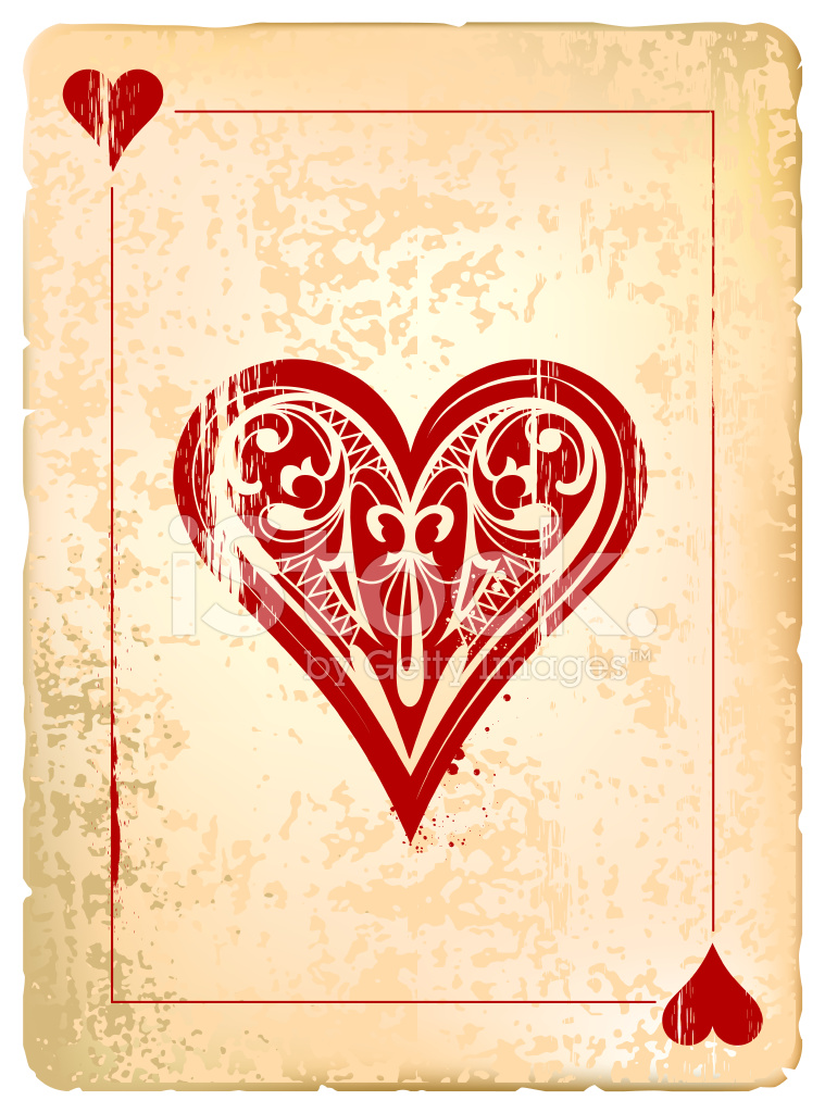 Ace of Hearts Stock Vector - FreeImages.com