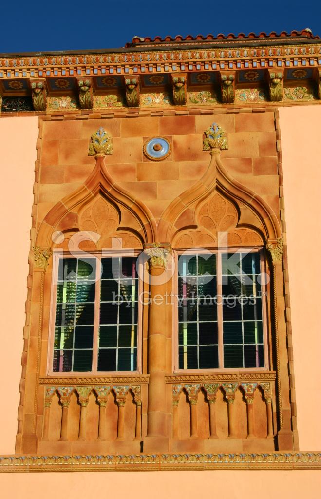 Premium Stock Photo Of Venetian Gothic Windows