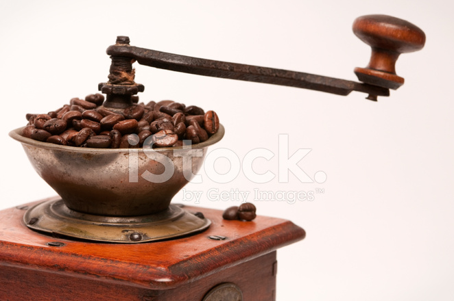 Retro Manual Coffee Grinder Or Mill Sketch In Vintage Style Stock  Illustration - Illustration of outline, coffee: 131265320