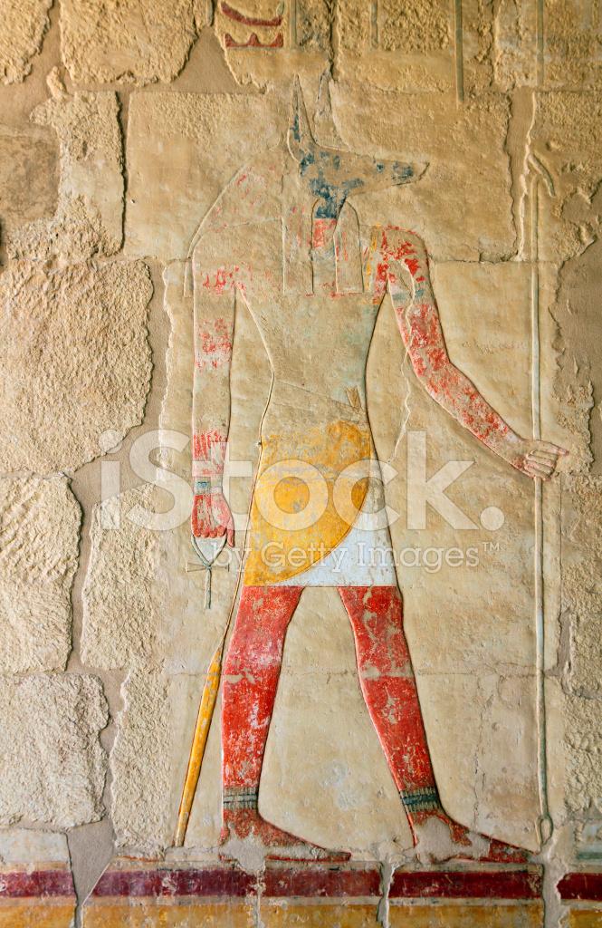 Anubis Ancient Egypt Color Image Stock Photos - FreeImages.com