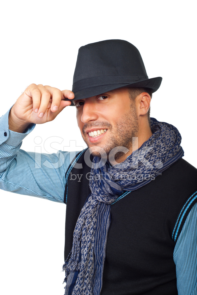 Modern Guy With Black Hat Stock Photos - FreeImages.com 8cac770d2c9