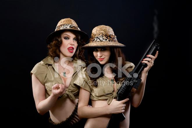 upskirt-and-sexy-girls-on-safari-teaching