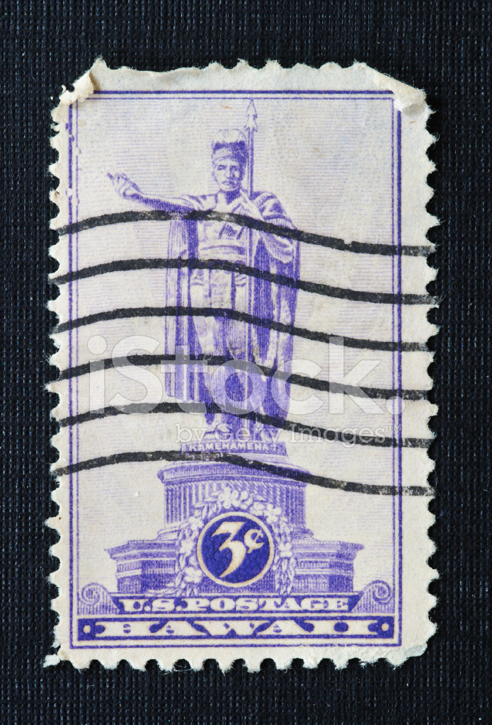 Hawaii 3 Cent Stamp