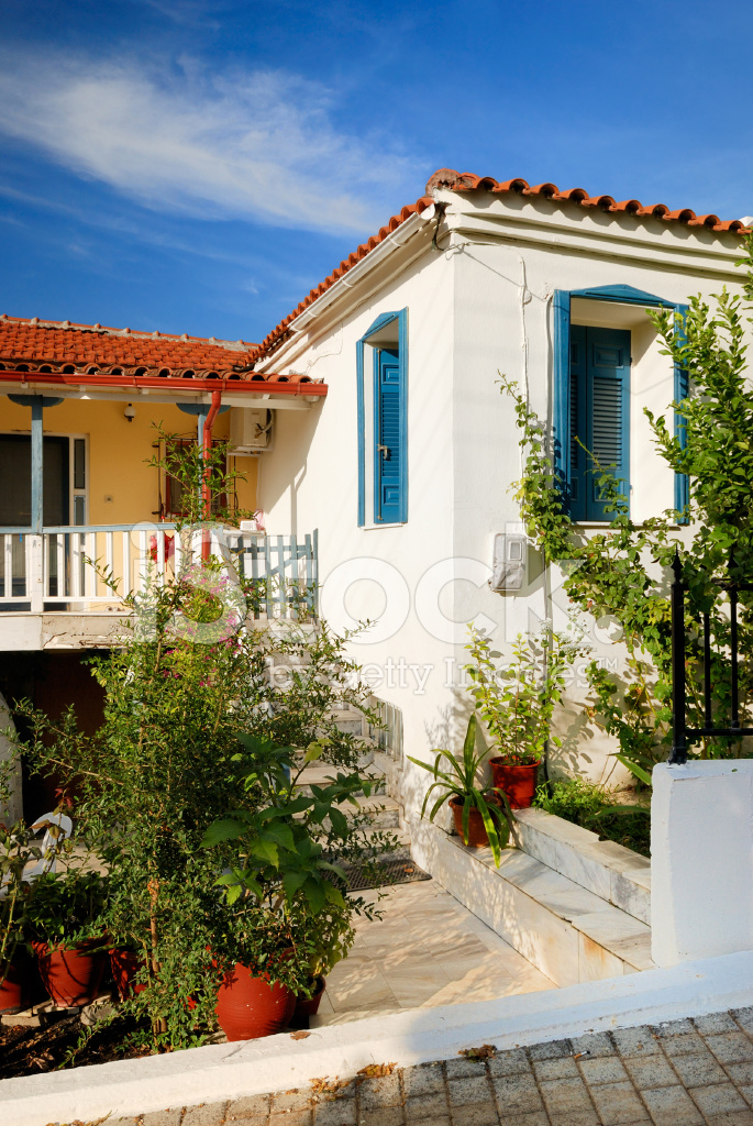 Premium Stock Photo of Traditional Greek Houses