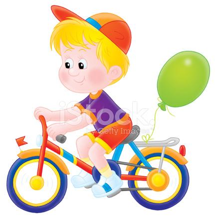 garoto andando de bicicleta stock vector freeimages com